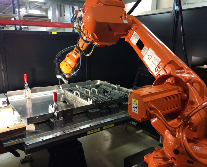 Large Format Robotic Welding